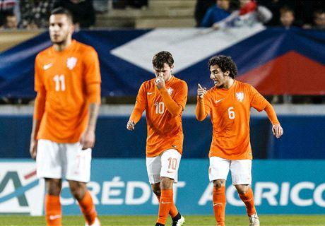 Jong Oranje onmachtig tegen Frankrijk