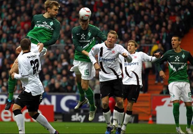 Frankfurt gegen Bremen: Die Meister der Eigentore