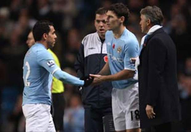 Gareth Barry believes Atletico Madrid's Sergio Aguero would be great replacement for Carlos Tevez at Manchester City