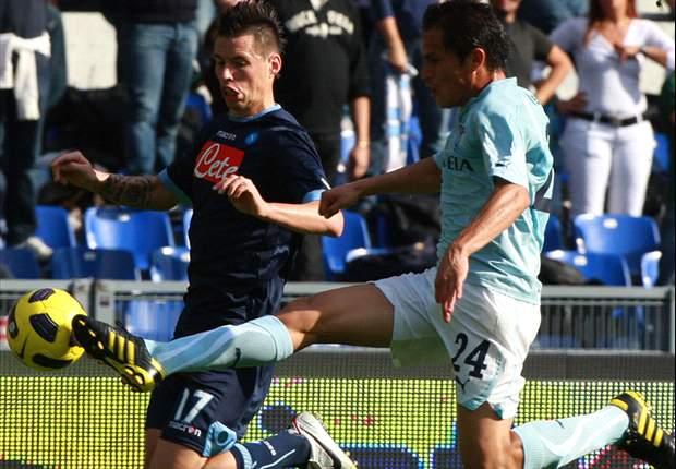 Lazio 2-0 Napoli: Inspirational Zarate Leads Lazio To The Top Of Serie A