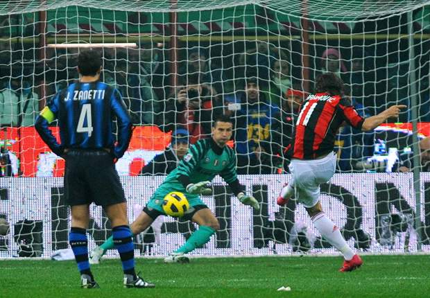 Inter 0-1 Milan: Derby Delight For Rossoneri As Ibrahimovic Spot-kick Secures Victory