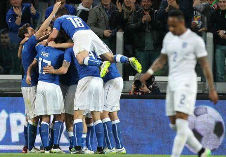 FT: Italia 1-1 Inggris