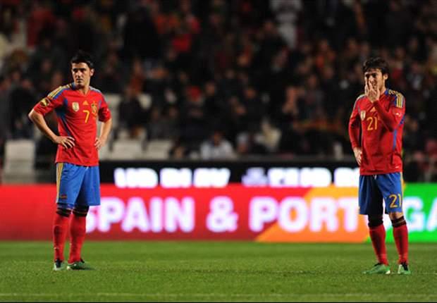 David Silva Berharap Spanyol Tetap Sama Tanpa David Villa