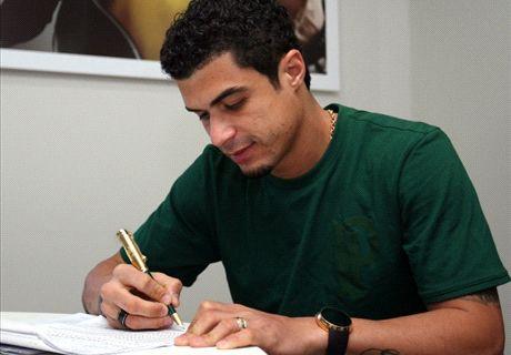 Palmeiras anuncia a contratação de Egídio