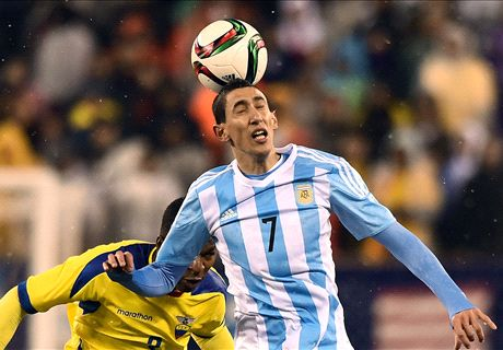 Argentina without Messi hold off Ecuador