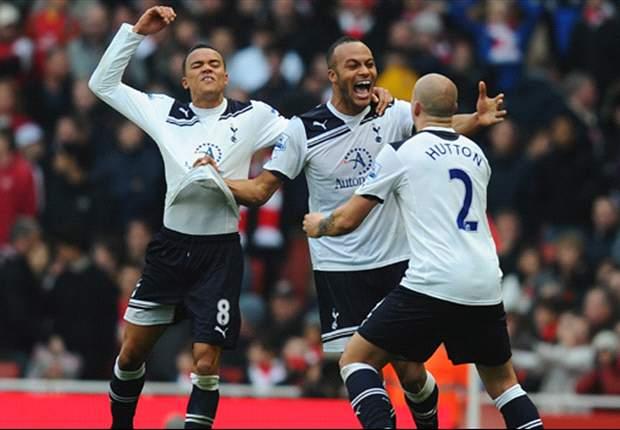 Arsenal 2-3 Tottenham: Bale, Van der Vaart and Kaboul score in thrilling second-half fightback as Gunners let two-goal lead slip