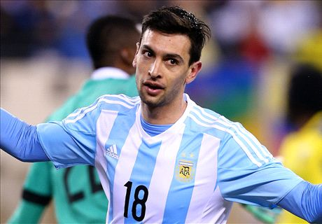 Pastore laughs off Messi comparisons