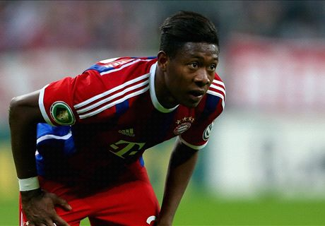 Alaba ruled out for seven weeks