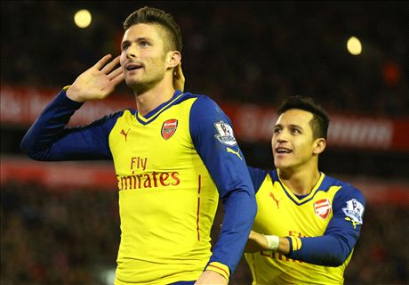 Giroud hoping to out-score Alexis