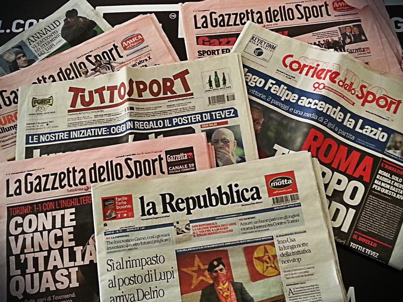 Rassegna stampa: le prime pagine di Gazzetta dello Sport, Corriere dello Sport e Tuttosport