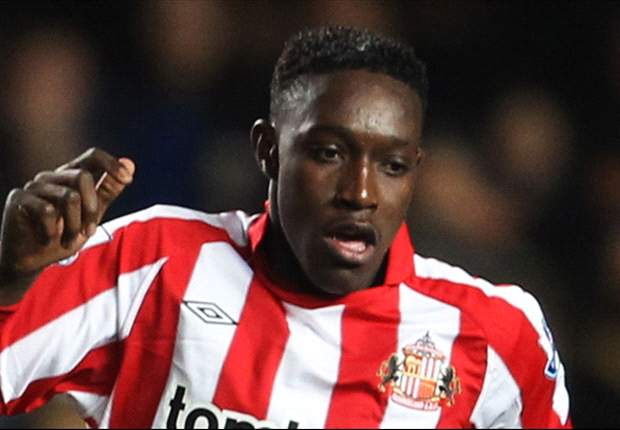 Asamoah Gyan admits he is trying to convince Sunderland team-mate Danny Welbeck to play for Ghana
