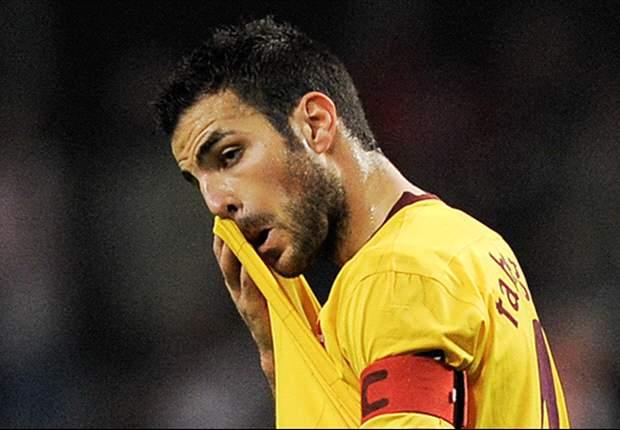Cesc Fabregas: I Take Full Blame For Arsenal's Champions League Exit To Barcelona
