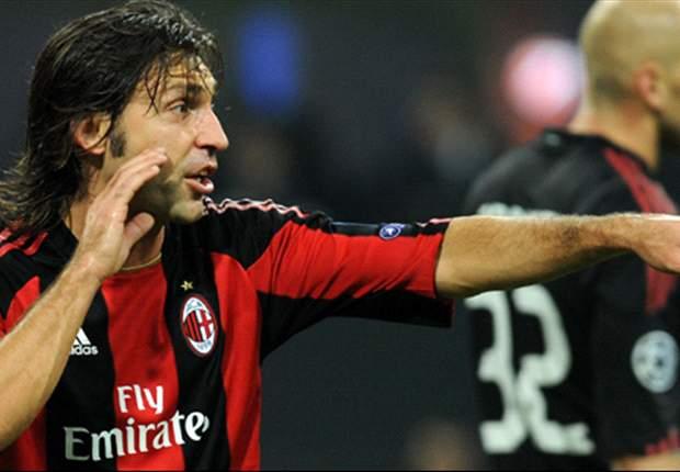 Milan Duo Andrea Pirlo And Luca Antonini To Miss Sampdoria Clash
