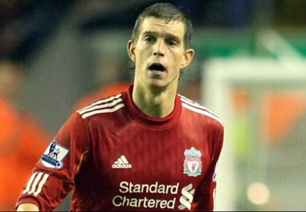 Agger in de basis bij Liverpool
