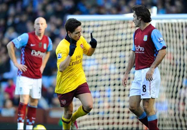 Spielbericht Premier League: Aston Villa - Arsenal London