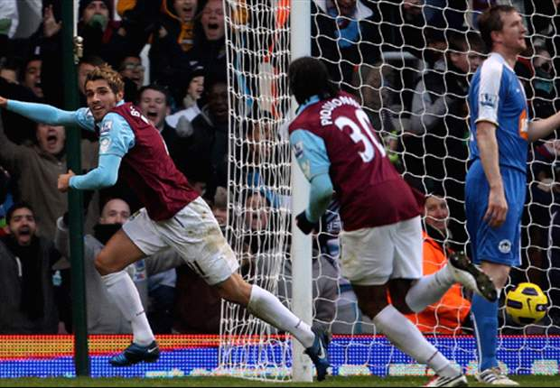West Ham United 3-1 Wigan Athletic: Robert Green saves penalty as Hammers win vital clash to ease pressure on Avram Grant