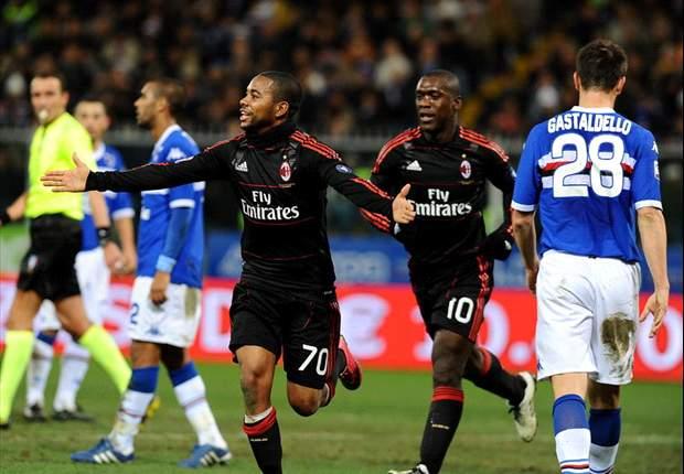 Sampdoria 1-1 Milan: Pazzini Equaliser Gives Blucerchiati A Valuable Point