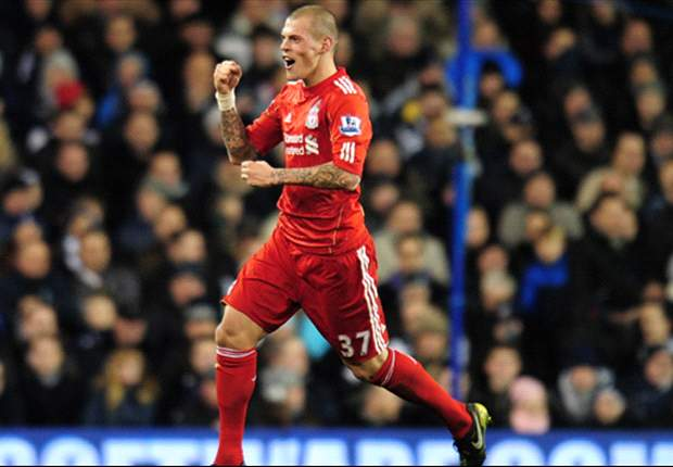 Martin Skrtel Relieved To No Longer Be On Opposing Team To Liverpool's Andy Carroll
