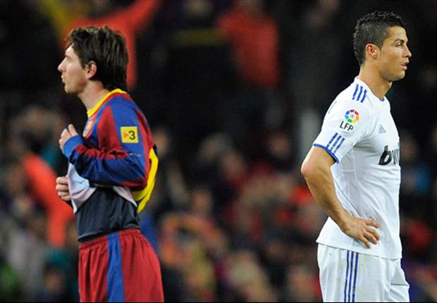 Messi and Cristiano Ronaldo tied in the race to win European Golden Shoe
