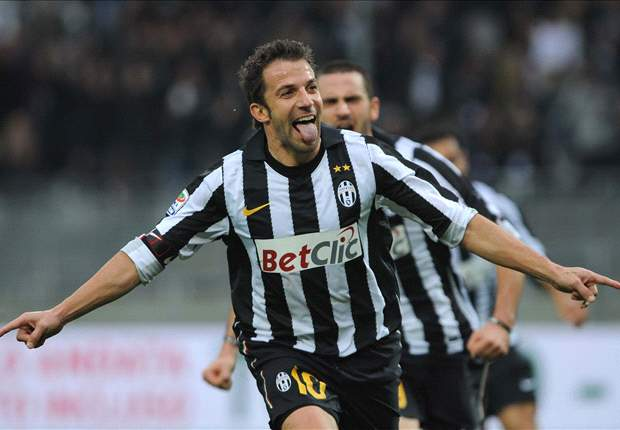 Juventus' Alessandro Del Piero presents his project to help Japan