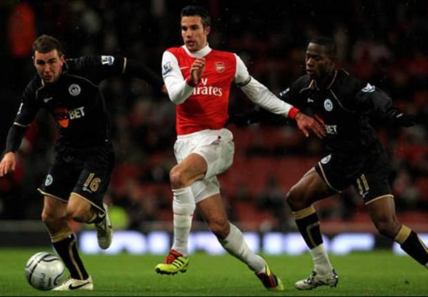 Kalahkan Wigan, Arsenal Tembus Empat Besar Piala Liga