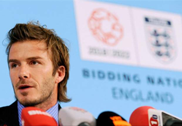 David Beckham On England's Failed 2018 World Cup Bid: We Couldn't Have Done Any More