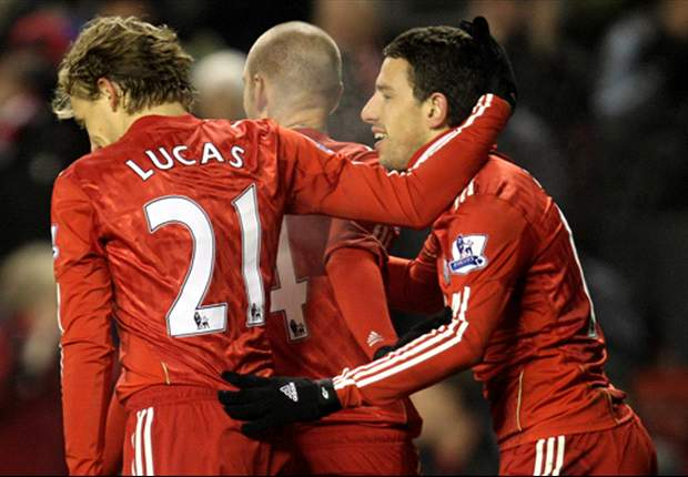 Liverpool 3-0 Aston Villa: Goals flow despite Torres and Gerrard's absence on Houllier's return to Anfield