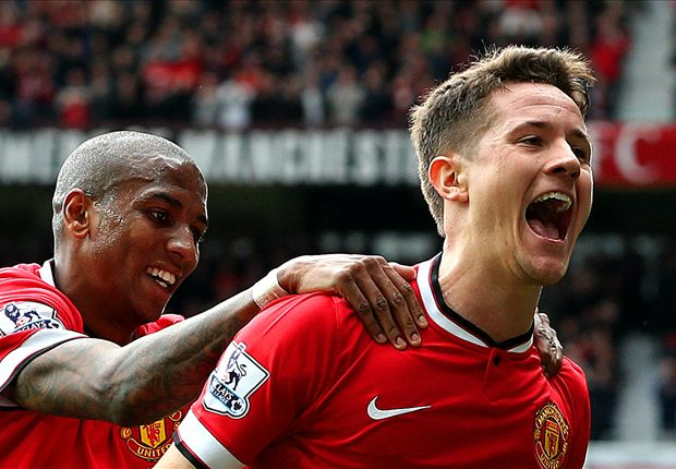 Manchester United 3-1 Aston Villa: Herrera double sends Van Gaal's men eight points clear of Liverpool