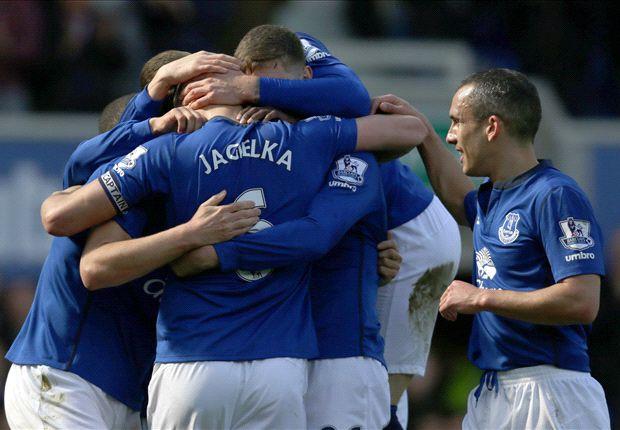 Everton 1-0 Southampton: Jagielka dents Saints' European ambitions