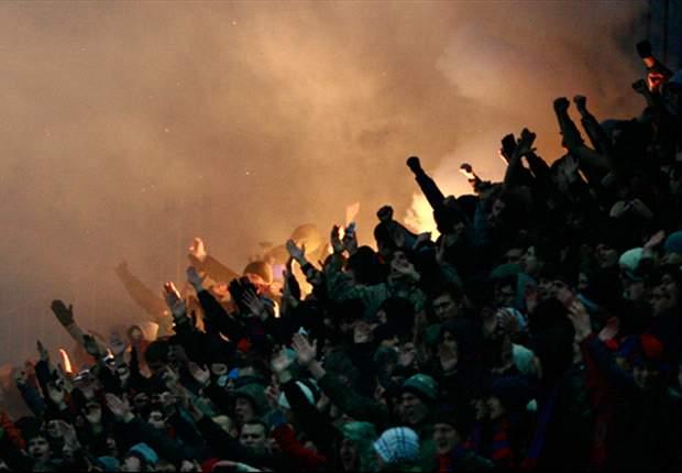 Russland: Verband bestraft Klubs nach Skandalspiel