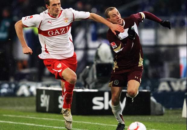 Hannover 2-1 Stuttgart: Cherundolo Injured In Hannover Win