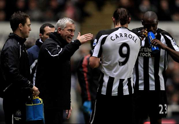 Alan Pardew Backs Former Newcastle United Striker Andy Carroll To Find His Feet At Liverpool