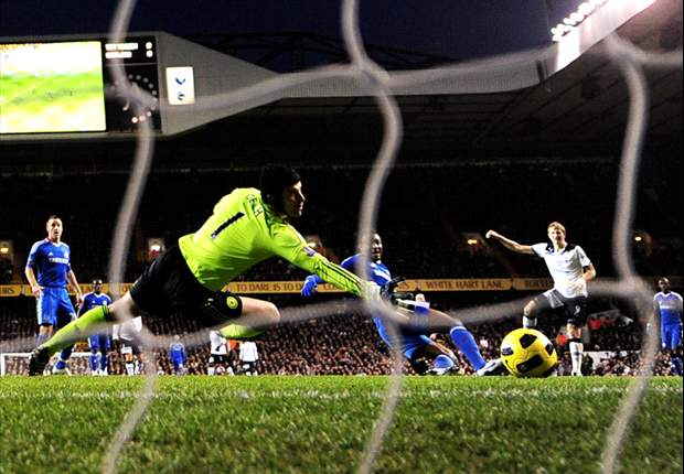 Tottenham 1-1 Chelsea: Gomes Saves Late Drogba Penalty To Deny Champions Vital Win After Gifting Blues' Leveller