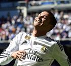 Ronaldo scores five for the first time