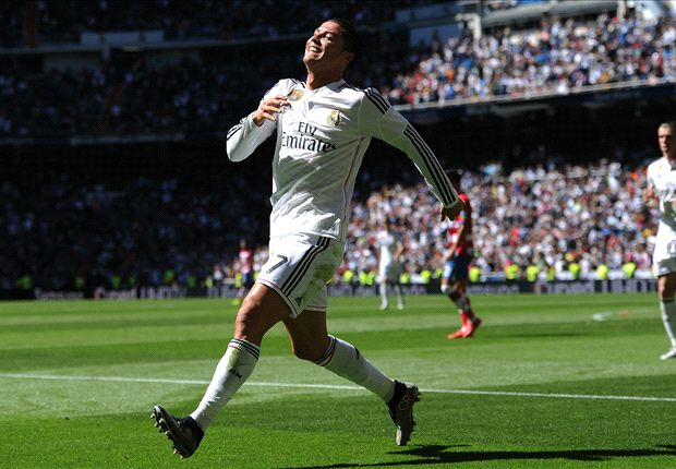 Real Madrid 9-1 Granada: Ronaldo hits five in easy win for Blancos
