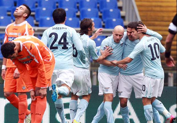 Lazio 3-2 Udinese: Late Cristian Zapata own goal settles lunchtime thriller