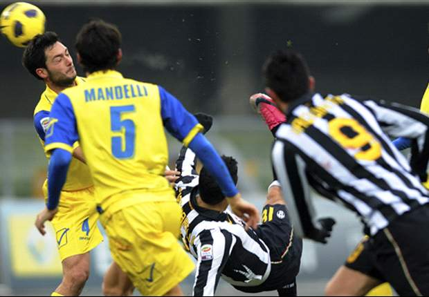Chievo 1-1 Juventus: Injury Time Sergio Pellissier Goals Denies Juve After Fabio Quagliarella Stunner