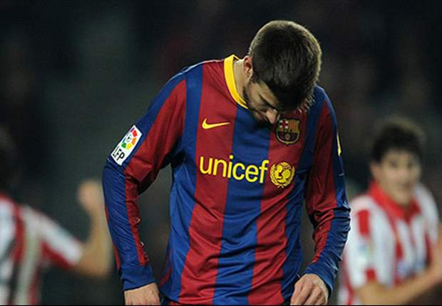 Barcelona's Gerard Pique to miss Uefa Super Cup following hamstring injury
