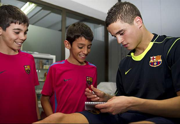 OFFICIAL: Ibrahim Afellay Joins Barcelona On A Four-And-A-Half Year Contract