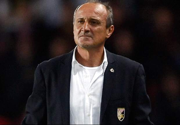 Palermo Coach Delio Rossi Bemoans Missed Chances Following Inter Defeat