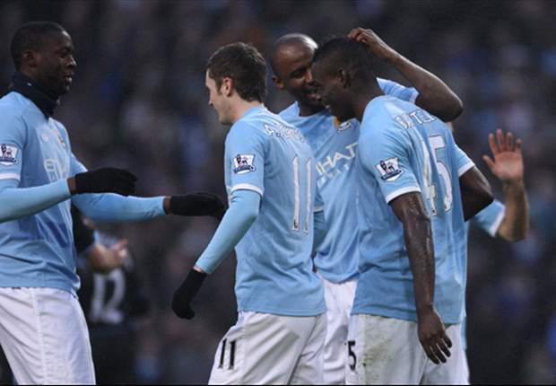 Manchester City 4-0 Aston Villa: Balotelli Hat-Trick Fires Citizens Ahead Of United To Take Top Spot