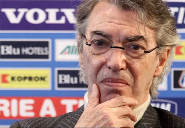 Inter President Massimo Moratti Keeping Positive Despite Loss To Bayern Munich