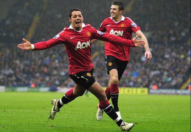 Javier Hernandez insists he is settling in well at Manchester United