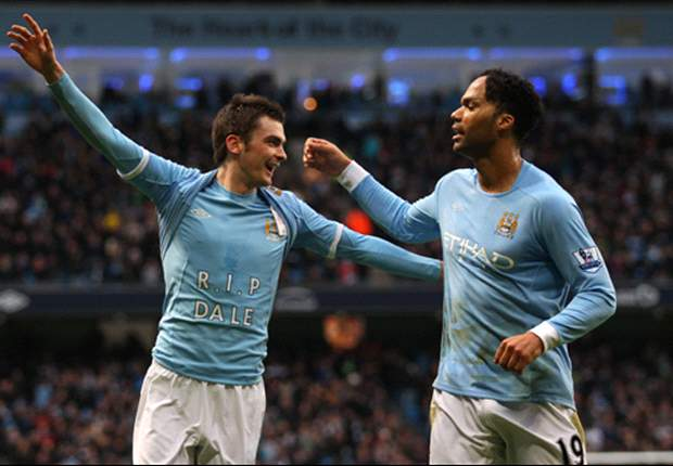 Manchester City 1-0 Blackpool: Deflected Adam Johnson Efforts Keeps Blues On Manchester United's Tail
