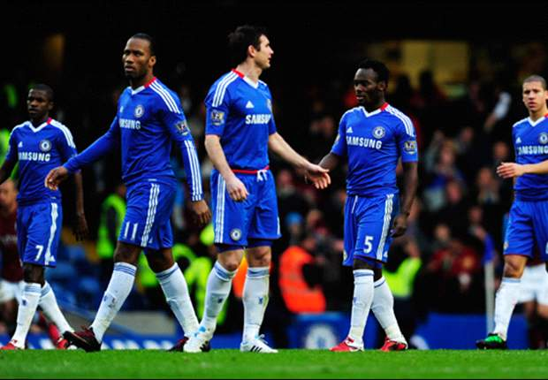 Chelsea 3-3 Aston Villa: Late Clark strike ends Terry & Drogba comeback as Champions slip six points behind leaders