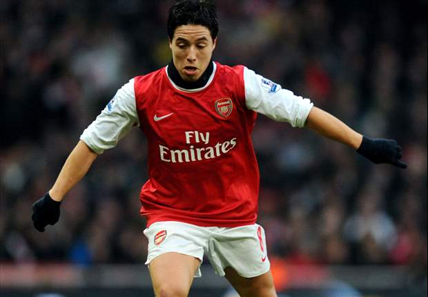 Arsenal manager Arsene Wenger: Contract negotiations with Samir Nasri have stalled but he will not be sold to Manchester United
