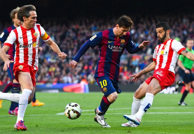 Barça-Almeria 4-0, le Barça a pris son temps