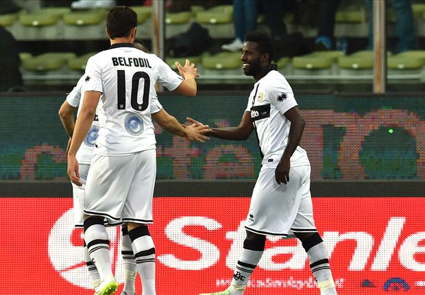 Varela seals Parma's first win in three months