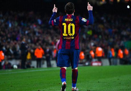 De 2004 a 2015: Los goles de Messi en Liga