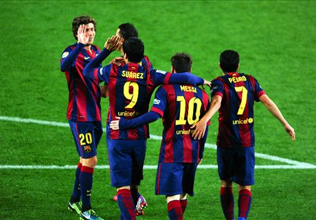 Spelersrapport: Barcelona - Almeria